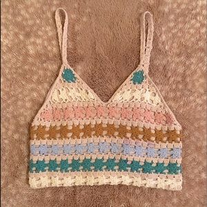 NEW American Eagle Knit Crop Top